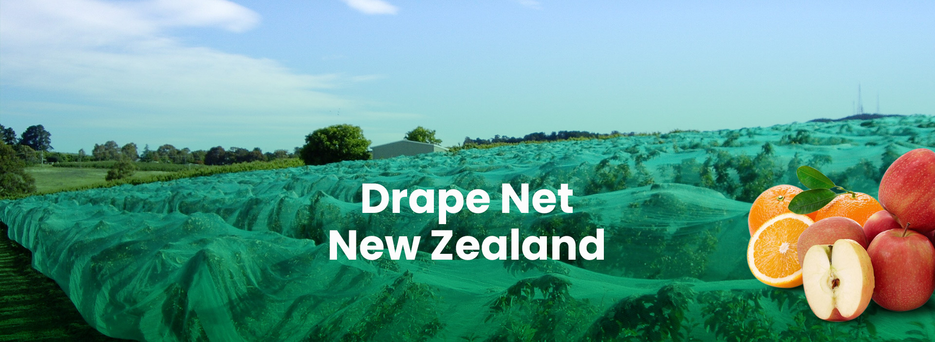 Drape Net New Zealand